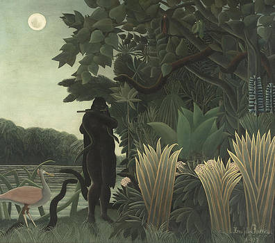 The Snake Charmer by Henri Rousseau