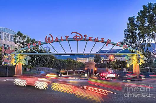David Zanzinger - The Walt Disney Company in Burbank CA Sunset