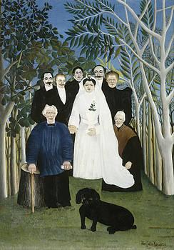 Henri Rousseau - The Wedding Party