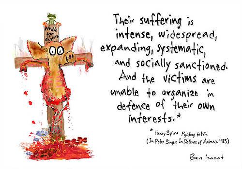 Their suffering is intense by Ben Isacat