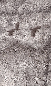 Three Crows by Wayne Hardee