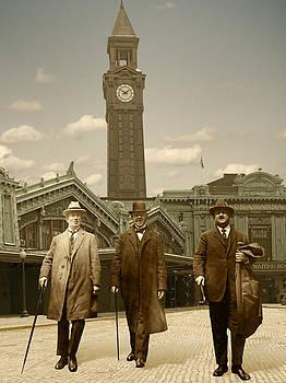 Three Stalwart Gentlemen by Roslyn Rose