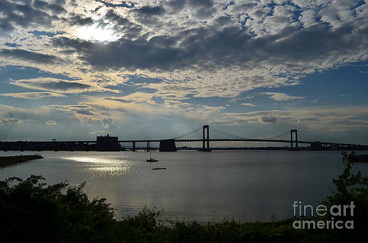 Throgs Neck Bridge by Janet Davaros