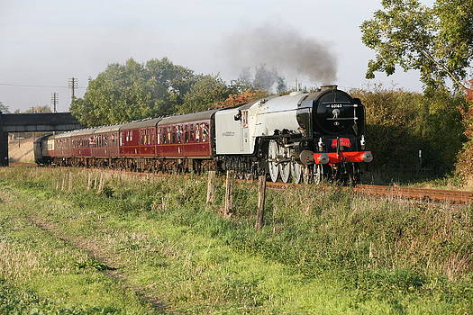 Mark Severn - tornado steam train