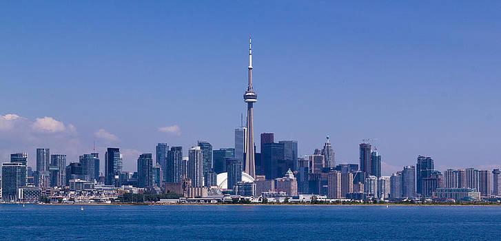 Toronto skyline. by Tibor Co