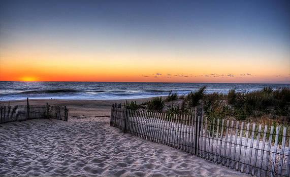 Tower Beach Sunrise by David Dufresne