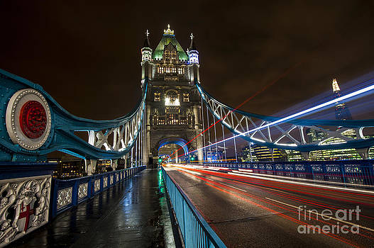 Tower Bridge London by Donald Davis