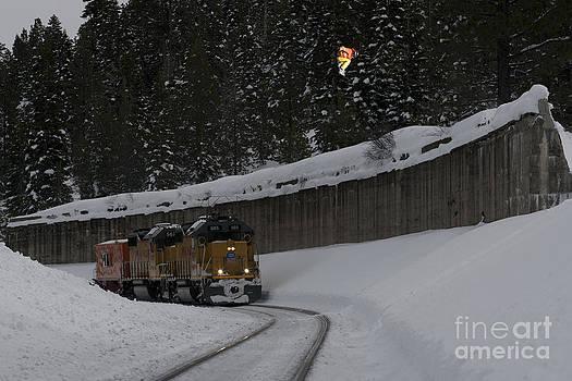 Train Gap by Kevin Westenbarger