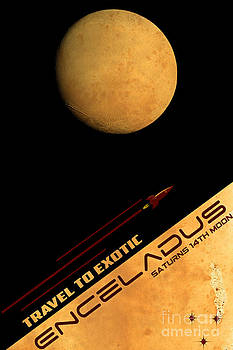 Travel to Enceladus by Cinema Photography