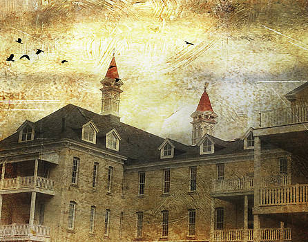 Traverse City State Hospital  by Mary Underwood