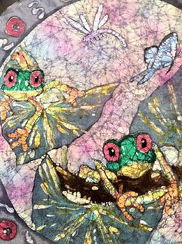 Tree Frogs  by Jill Tsikerdanos
