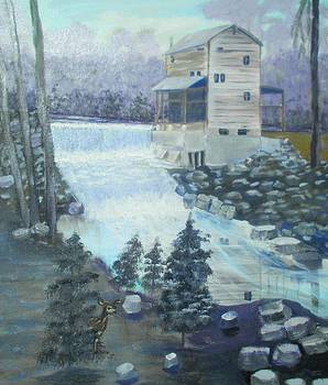 Trenton Grist Mill by Linda Bright Toth