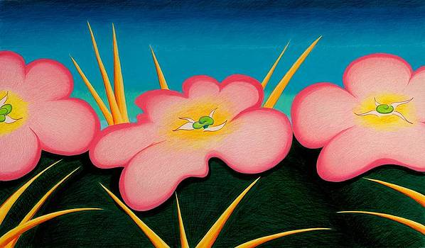 Tres Flores by Richard Dennis