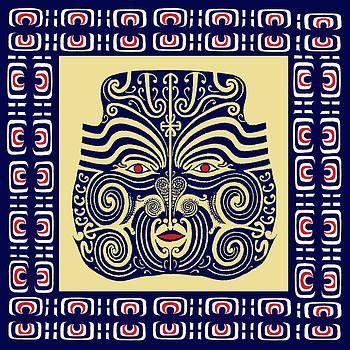 Marquesas Tribal Spirits by Vagabond Folk Art - Virginia Vivier