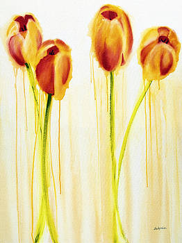 Tulips are People XVII by Jerome Lawrence