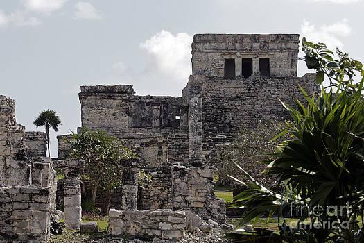 Tulum Ruins Mexico by Kathy DesJardins