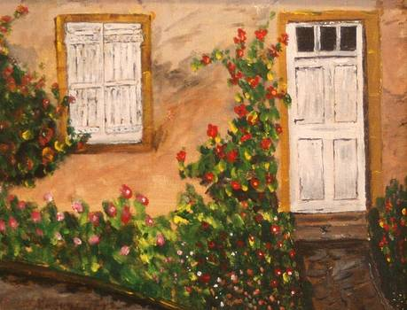 Tuscan Door by W William Brown Jr