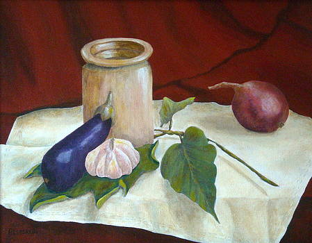Tuscan Table by Pamela Allegretto