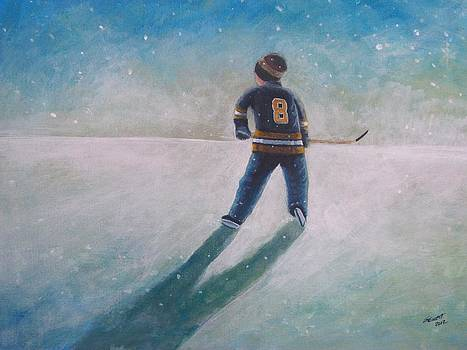 Twilight Skate  by Ron  Genest
