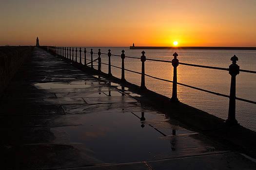 David Pringle - Tynemouth Pier Sunrise