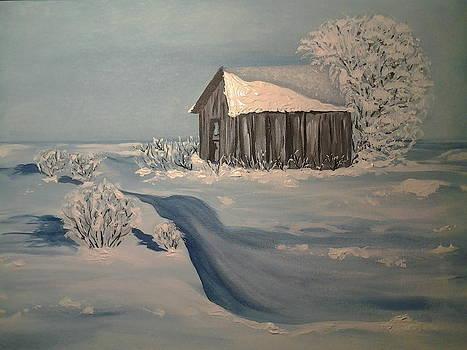 Winter by Edwina Sage Washington