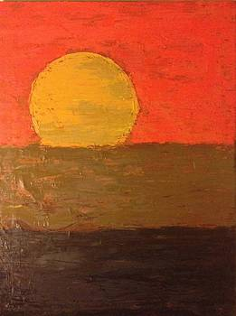 Abstract Sunset by Ryan Adams
