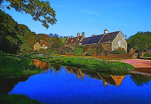 Upper Slaughter by Ron Harpham