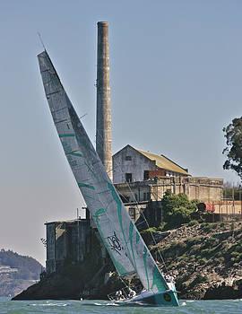 Steven Lapkin - Upwind on San Francisco Bay