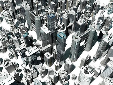 Urban Sprawl by Sebastian Kaulitzki