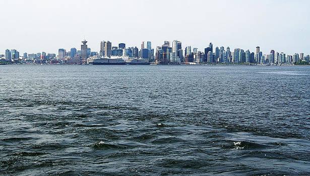 Vancouver Skyline by Devinder Sangha