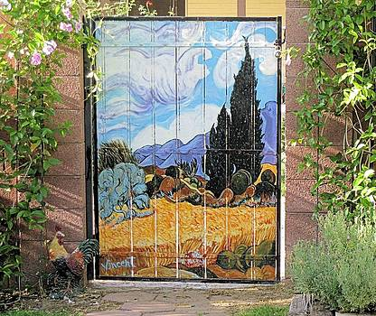 VanGogh Inspired Gate by JAXINE Cummins