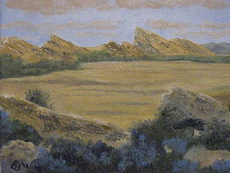 Vasquez Rocks by Terry Sonntag