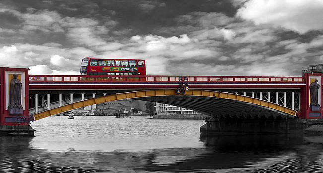 David French - Vauxhall Bridge Thames London