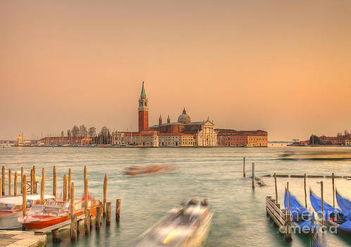 Venetian sunset by Radu Razvan