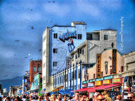 Venice Beach Boardwalk by Kip Krause