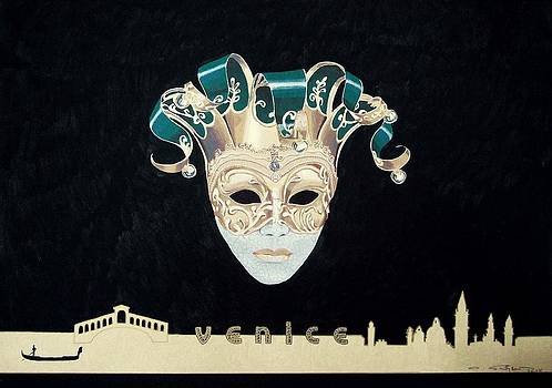 Venice Carnival Tradition by Ingrid Stiehler