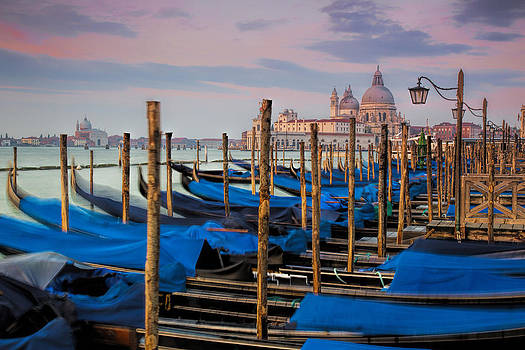 Venice Lagoon -- Santa Maria della Salute by Paul James