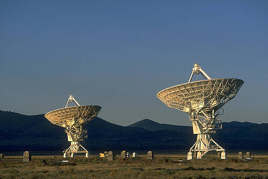 Very Large Array Radio Telescope by Don Baccus