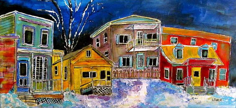 Ville St. Pierre Village by Michael Litvack