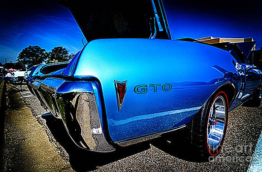 Danny Hooks - Vintage Blue Pontiac GTO Muscle Car