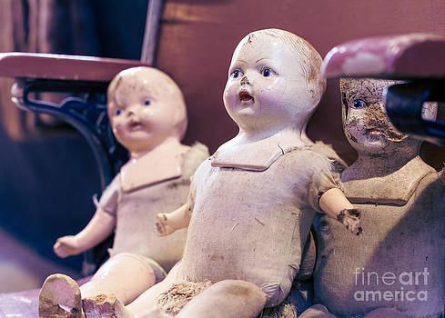 Vintage Dolls II by Mary  Smyth