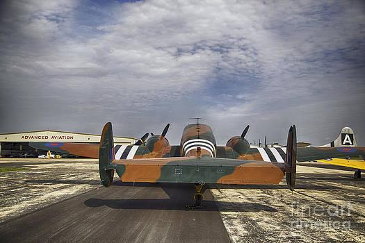 Vintage plane by Joenne Hartley