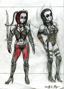 Vixens of BloodRayne by Jody Anthony Thompson