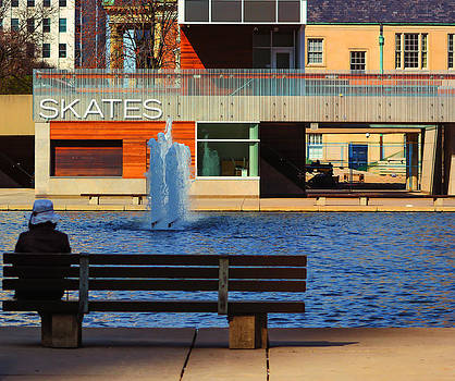 Waiting at Nathan Phillips. by James Canning