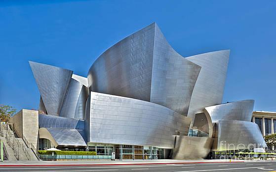David Zanzinger - Walt Disney Concert Hall Vertical Exterior Building Frank Gehry Architect 15