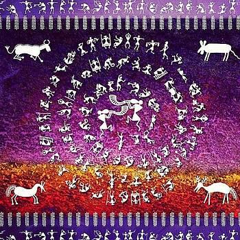 Warli Rejoice by Subhash Limaye