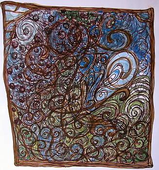 Sandy Tolman - Watercolor Swirls