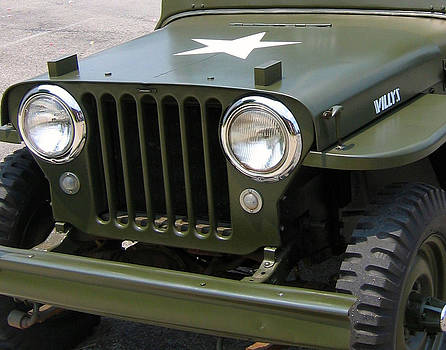 Sherlyn Morefield Gregg - Willys Jeep