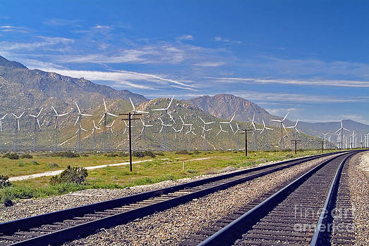 David Zanzinger - Wind Turbines Green Energy Palm Springs San Gorgonio Pass