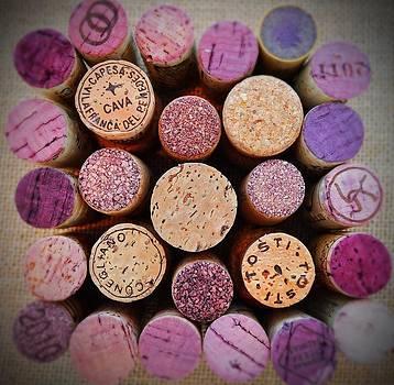Wine Corks by Heidi Pence
